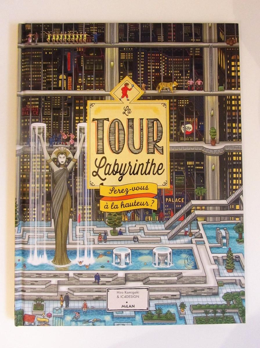"""Libro-juego: """"Pierre el detective de laberintos"""" o """"La Tour Labyrinthe"""""""